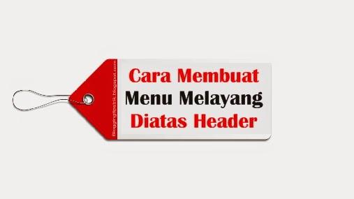 menu melayang