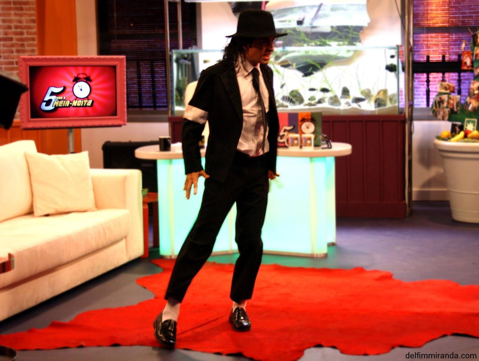 Delfim Miranda - Michael Jackson Tribute - TV performance - 5 para a meia-noite - RTP - Smooth Criminal