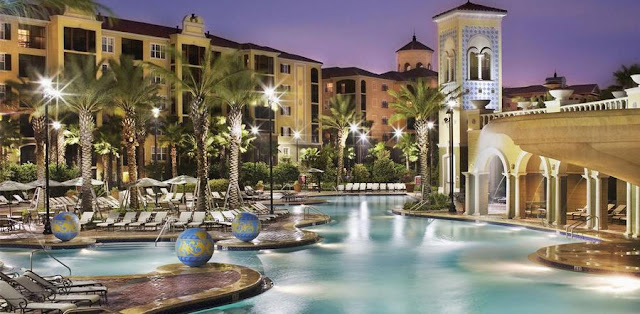 Book Hilton Grand Vacations at Tuscany Village- a stunning Orlando resort featuring convenience to theme parks, two resort pools, and complimentary WiFi.