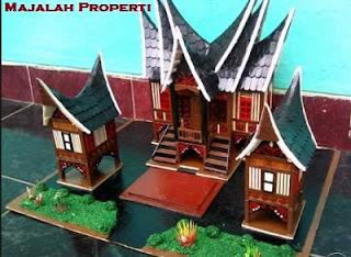 Rumah Adat dari Stik Es Krim, Arsitektur Indonesia