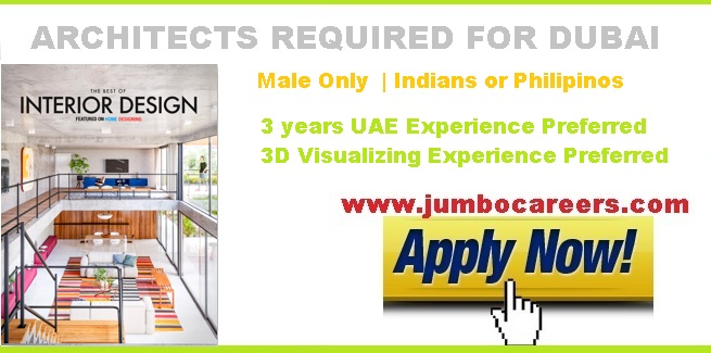 Latest Architects Job Vacancies In Dubai 2018