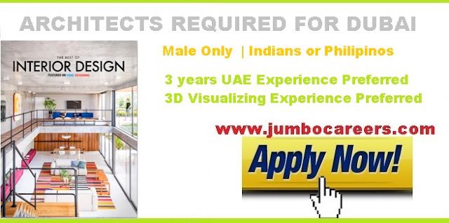 Jobs for Architects in Dubai 2018. Architects salary in Dubai