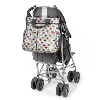 Skip Hop Due signature diaper bag: multi pod