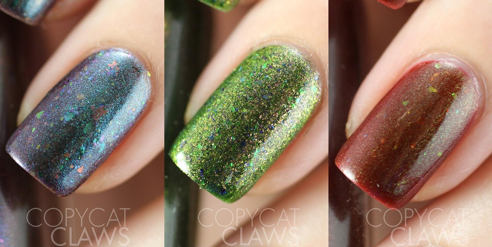 Lujo Galaxy Color De Las Uñas Festooning - Ideas de Pintar de Uñas ...