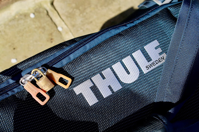 Thule Crossover 87L Rolling Duffel Travel Holdall