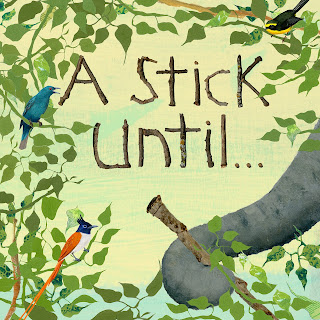 A Stick Until... tells the story of how a stick can start as part of a tree, have many uses, be helpful, and come full circle. From elephants using a leafed stick as a flyswatter to alligators using a stick as bait and to many more uses, the life of a stick is much more interesting than you might expect.
