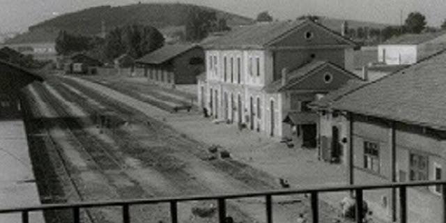 Cáceres antigua estación de ferrocarril