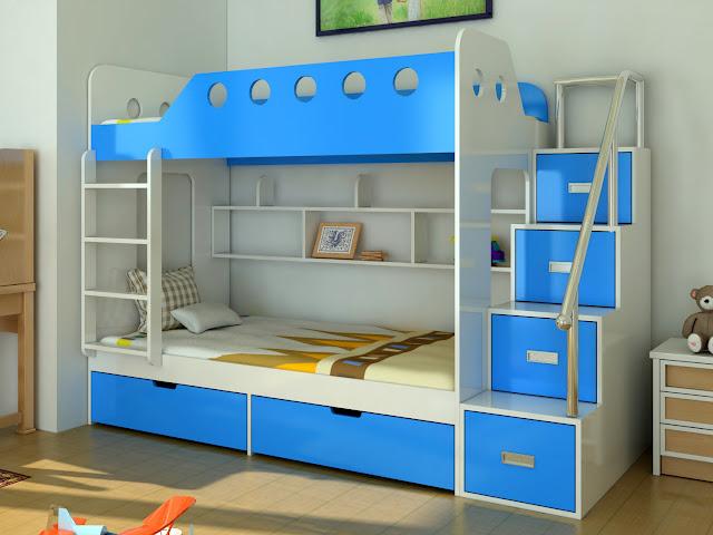 Bạn có thể chọn hai giường kích thước bằng nhau như thế này