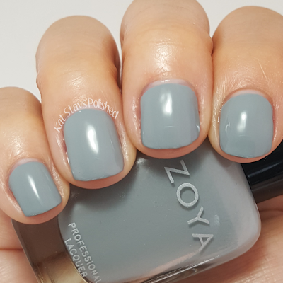 Zoya Urban Grunge Once Coat Creams - August | Kat Stays Polished