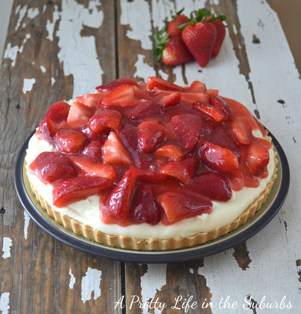 Strawberry Cream Tart