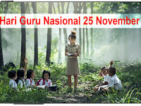 Hari Guru Nasional Indonesia 25 November
