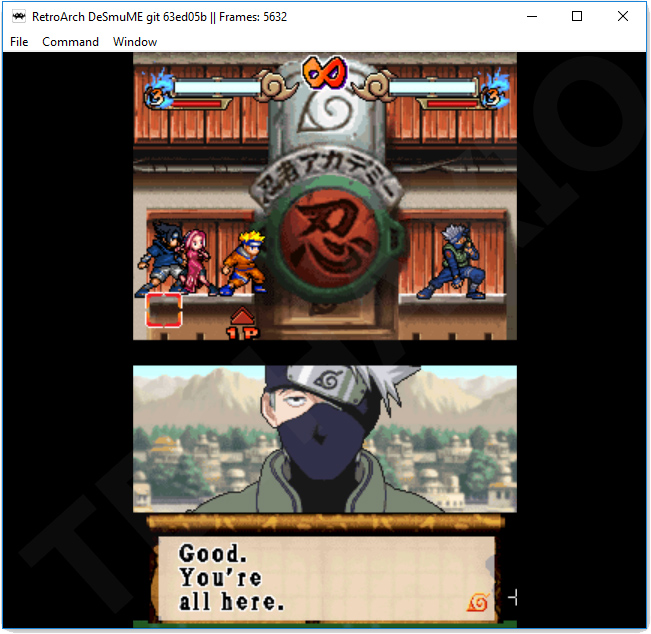 Naruto Ninja Council 3 Screenshot