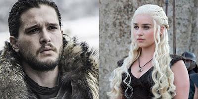 Jon-and-Daenerys-Game of Thrones Season 7 Premiere Character Meeting