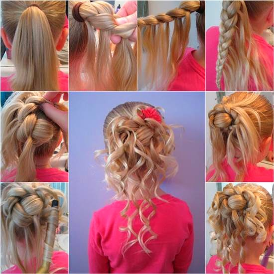 how to make girls hair style steps of hairstyles 8164 | How to Make Cute Hairstyle for Girls DIY Tutorial