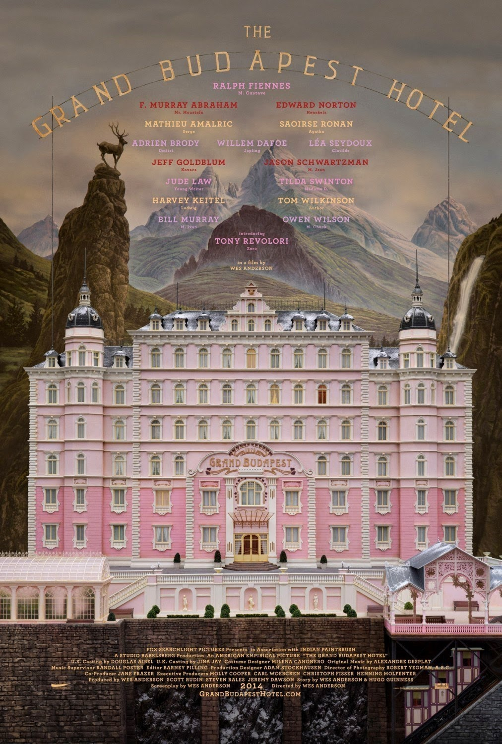 The Grand Budapest Hotel 2014 - Full (HD)