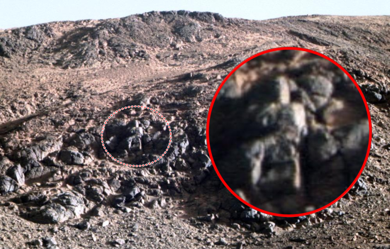 Decomposed human-like body found on Mars |UFO Sightings ...