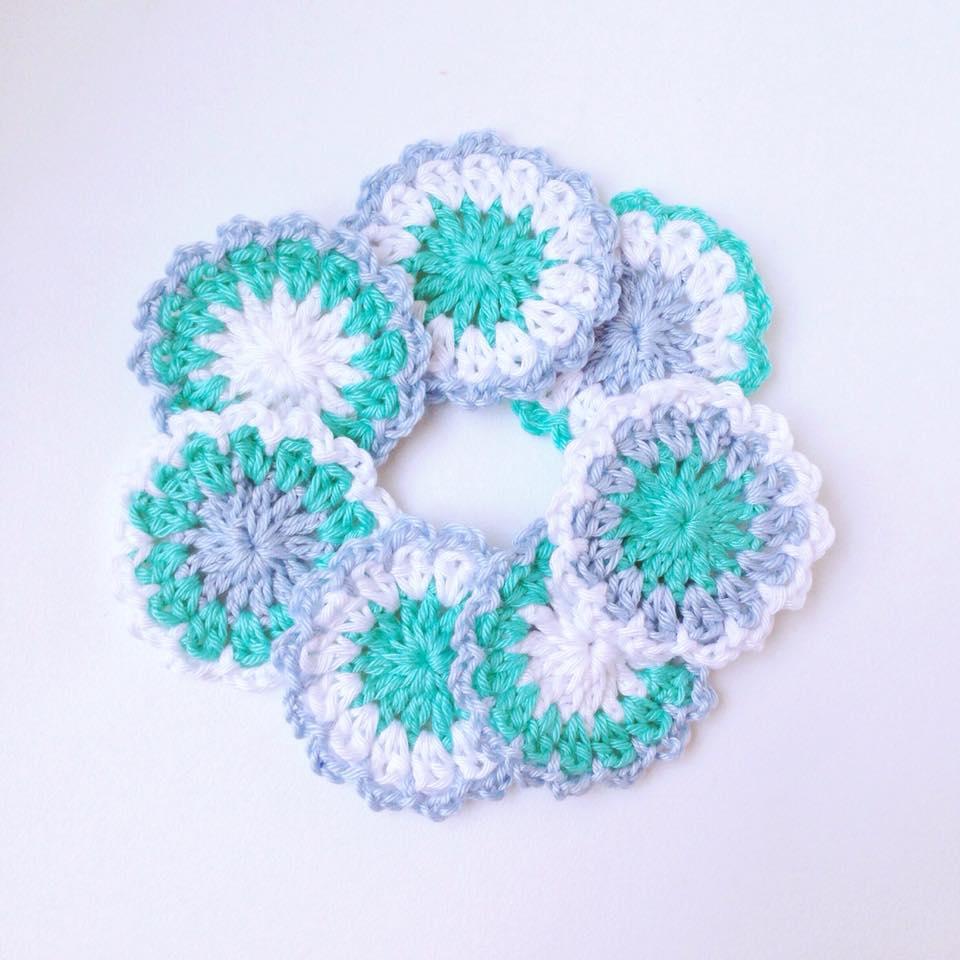 Betere Crochet Flower Pattern + Video - Gehaakte Bloemen Haakpatroon + JK-45