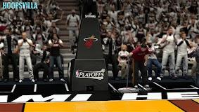 NBA 2k14 Stadium Mod : Playoff Edition - Miami Heat - American Airlines Arena