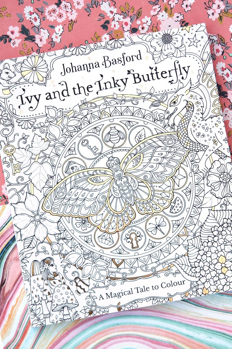 JOHANNA BASFORD COLOURING BOOK GIVEAWAY.