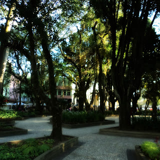 Praça Nereu Ramos, em Criciúma