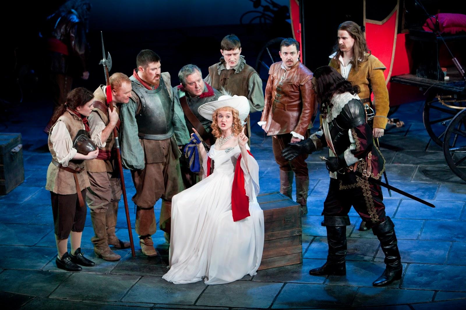 Steve Stratford Reviews Cyrano De Bergerac Theatr Clwyd
