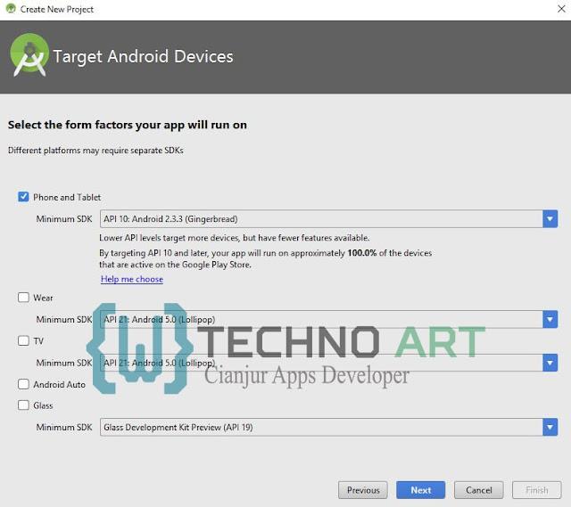 Membuat Project Aplikasi pada Android Studio_Step3