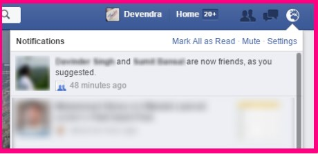how can i suggest all friends on facebook