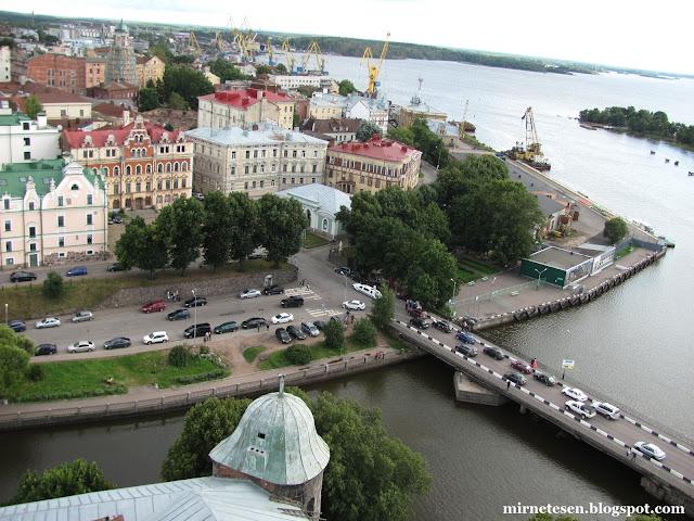 Северный город Выборг - Россия, Ленинградская область