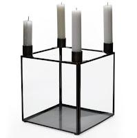 MoDrn Scandinavian Glass Candle Holder
