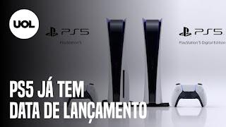 PlayStation 5 chega ao Brasil em novembro