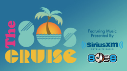 Sirius XM is giving listeners a chance to enter once to win two spots on THE 80s CRUISE in a gorgeous ocean view room with a veranda, worth over $6000!