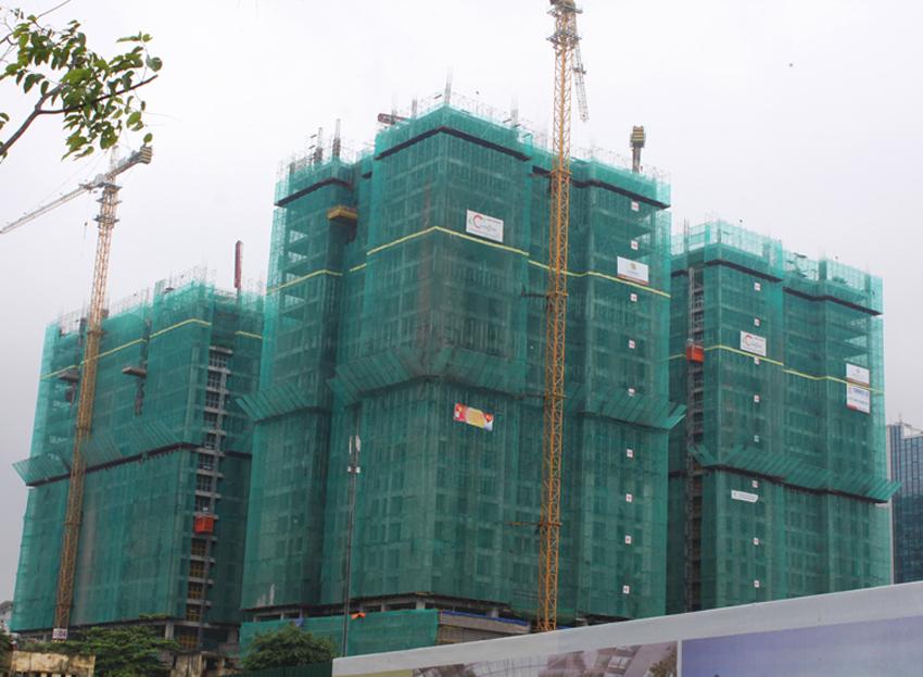 hình ảnh cập nhật tiến độ dự án Home City 177 Trung Kính