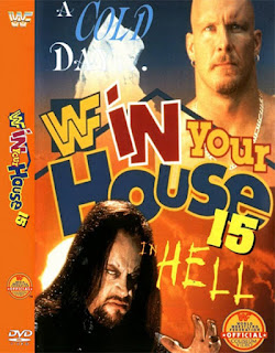 WWE / WWF - In Your House 15: A Cold Day in Hell - Event poster