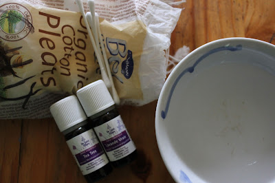 home-made antibacterial wash essential oils