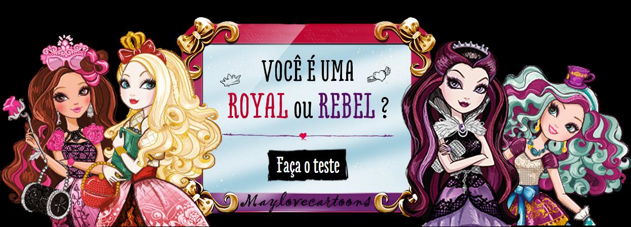 Bloo Mays Ever After High Quiz Oficial Você é Royal Ou Rebel