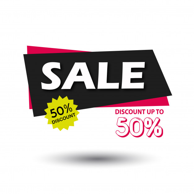 Vector Sale Banner Graphic Illustration Free Vector