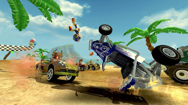 Download Beach Buggy Racing Apk Mod Data Game