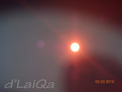 gerhana matahari selesai