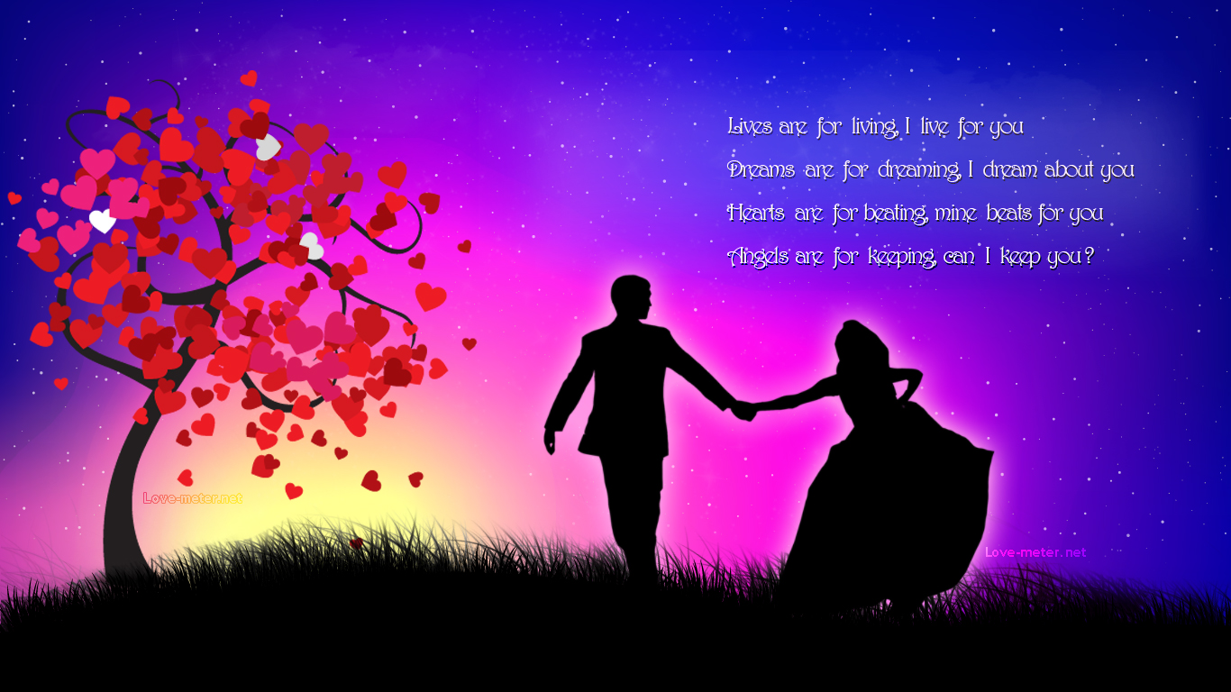Wallpaper Backgrounds: Romantic Love Wallpapers For