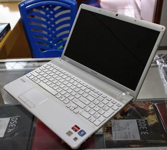 harga jual laptop bekas sony vaio vpcee35fj
