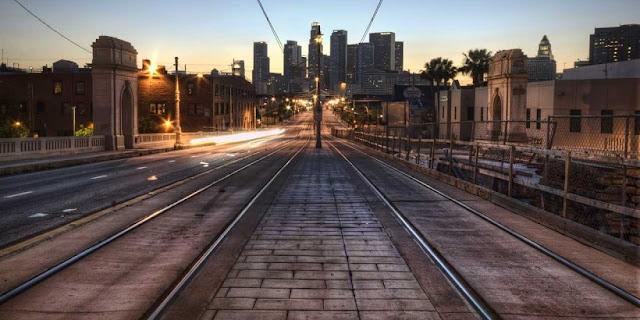 Sistema de transporte em Los Angeles