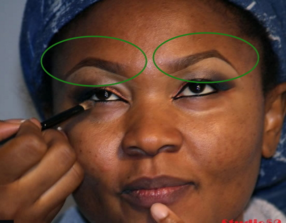 eyebrow carving nigeria