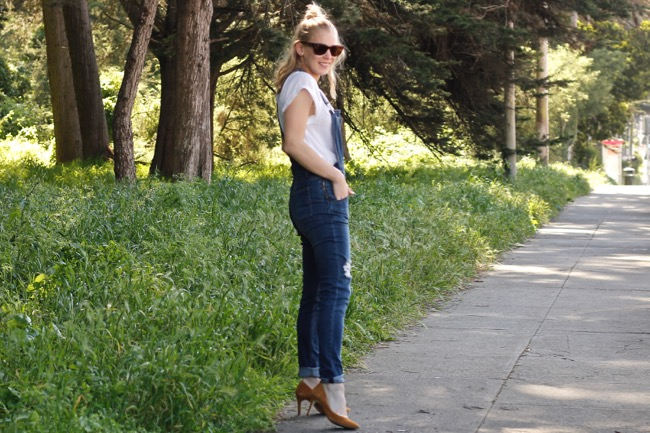 Shae Roderick, outfit, style, look, SF blogger, overalls, San Francisco
