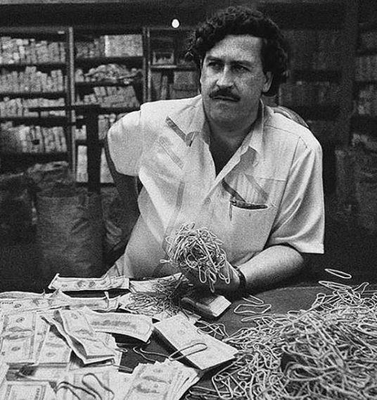 Pablo Escobar en el apogeo de su poder