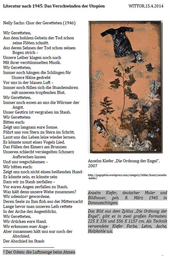 Geschichte Der Deutschen Dichtung Trümmerliteratur