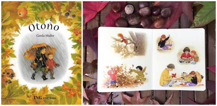 Cuentos libros infantiles sobre la estación del otoño, Otoño Gerda Muller
