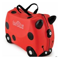 La valise trunki vraiment pratique pour les enfants