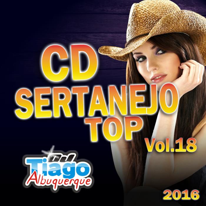 CD Sertanejo Top Vol.18 - 2016