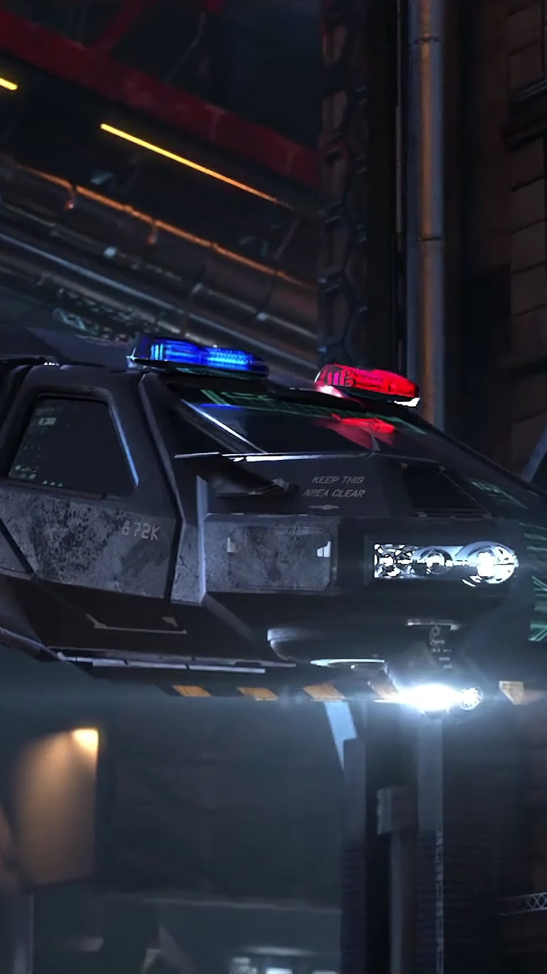 Cyberpunk 2077 Police Car 4k Wallpaper 7