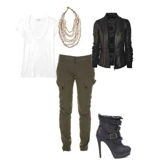 características sobresalientes primera vista estilo popular Club de Estilo: Cómo combinar un pantalón verde militar
